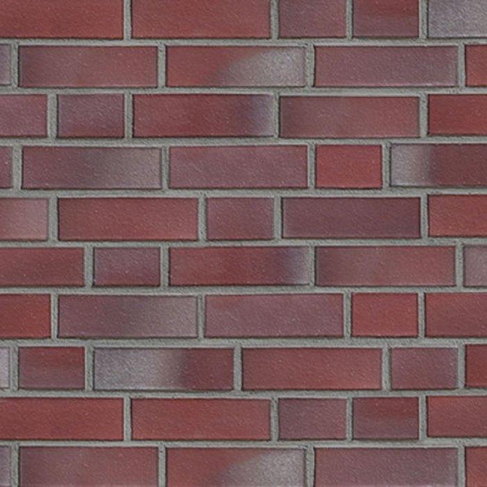 Кирпич облицовочный 2654 Basel silber-rot glatt NF Hö