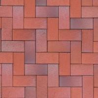 Тротуарный кирпич Eisenschmelz-bunt-geflammt