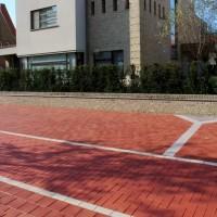 Тротуарный кирпич Rot-nuanciert