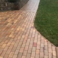 Тротуарный кирпич Antik gelb kohlebrand