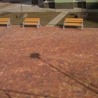 Тротуарный кирпич Herbstlaub-geflammt